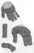 Ogre Hands and Fingers