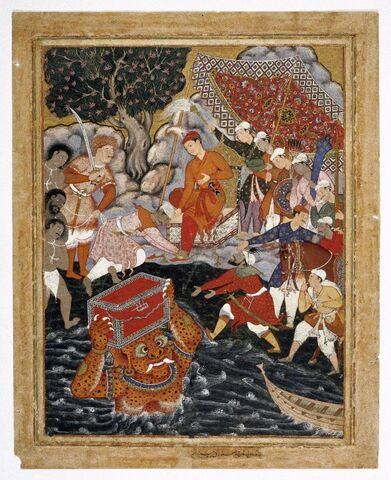 File:Brooklyn Museum - Arghan Div Brings the Chest of Armor to Hamza.jpg