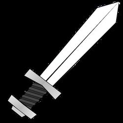 Illustration of a sword