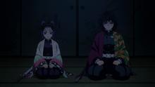 Giyu and Shinobu accept their mission