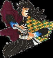 Giyu Tomioka Profile (Manga)
