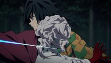 Giyu kills Rui
