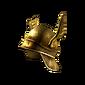 Dull Gold Helmet