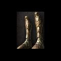 Dull Gold Leggings