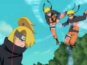 Narutokakashivsdeidara6