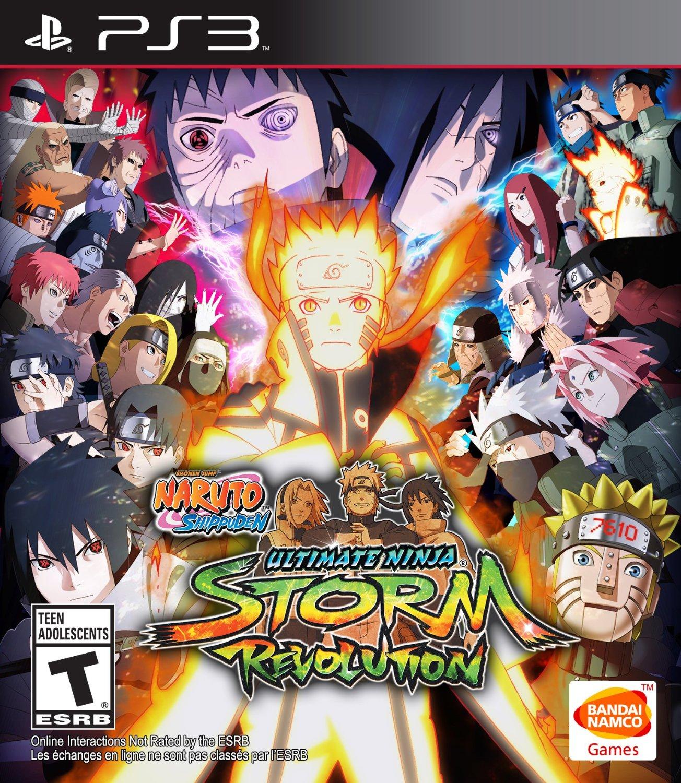 Naruto Shippuuden: Ultimate Ninja Storm Revolution ...