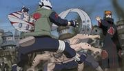 Kakashi vs pain 4