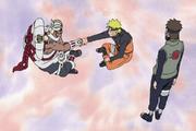 Killerbee hilft Naruto