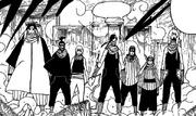 Die ehemaligen sieben Shinobi-Schwertkämpfer 1