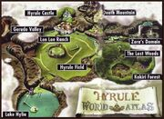 Hyrule Welt Atlas englisch