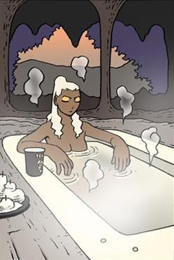 Gongja's Bath