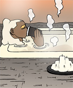 Gongja's Bath2