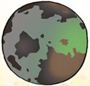 Planet with Gatsu's race