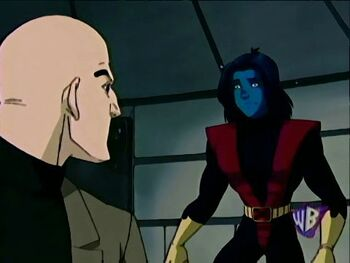 Professor Xavier & Nightcrawler