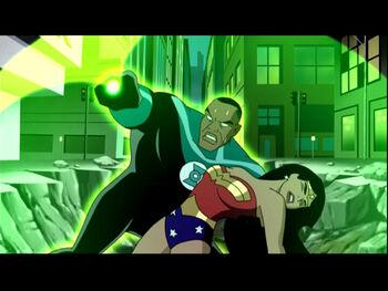 Green Lantern and Wonder Woman