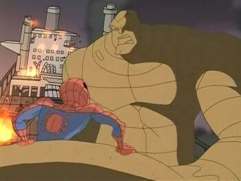Spider-Man and Sandman (Spectacular Spider-Man)