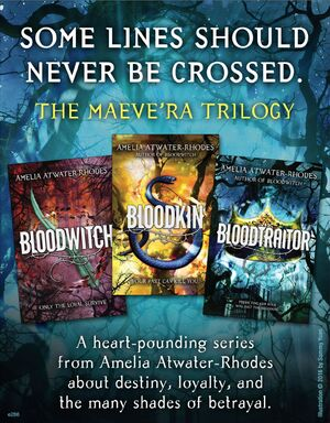 The Maeve'ra Trilogy ad