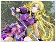 Феррис Эрис, показанная с её мечом
