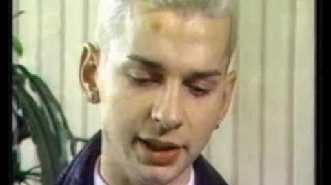 Dave Gahan interview 1985