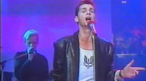 Depeche Mode - Shake the Disease - Peters Popshow - 1985
