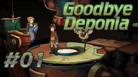 Let's Play Goodbye Deponia 01 - Tutorial, Schmutorial