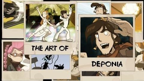Art of Deponia - English