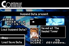 Loading Suspended Data
