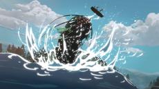 Rayla Ezran Callum mit Tiefseefisch