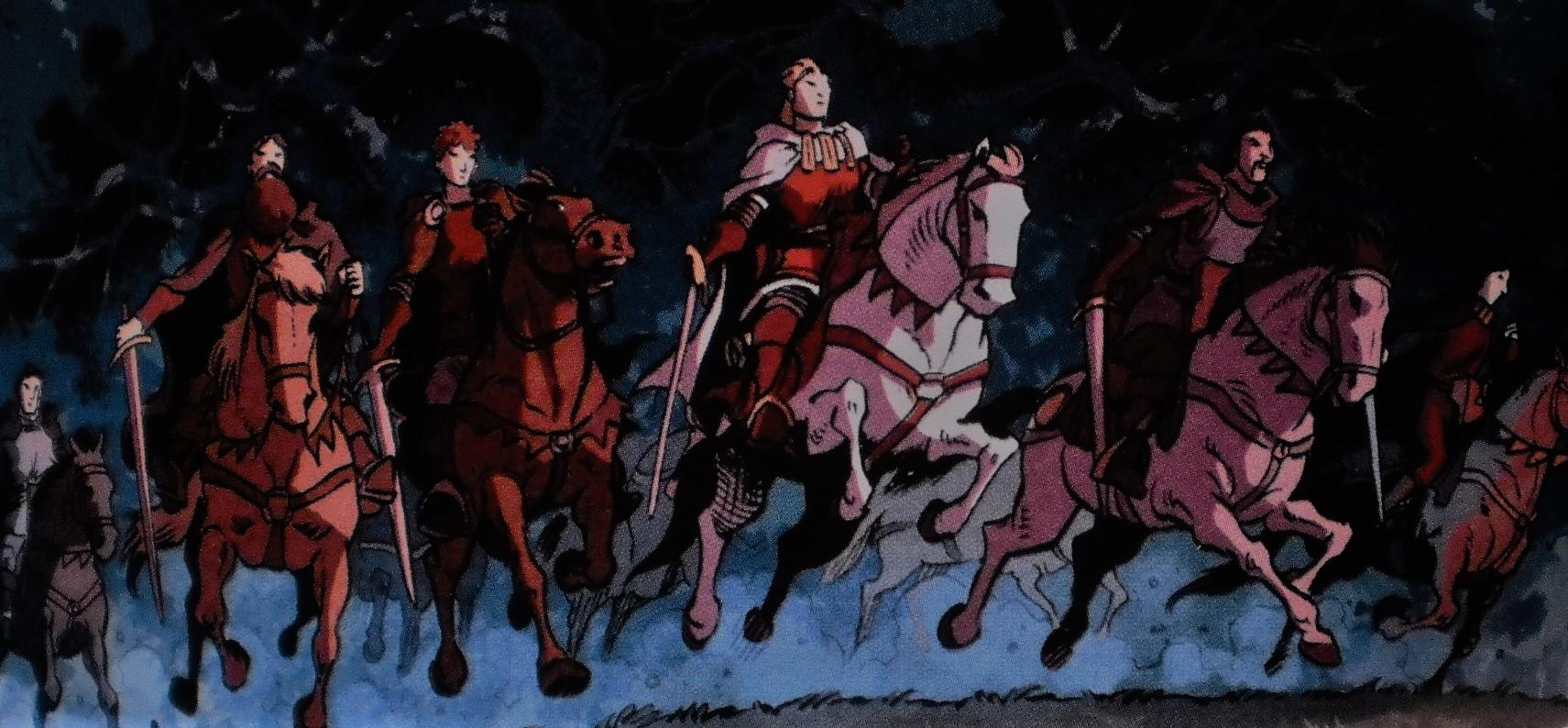 Ridders Aan De Ronde Tafel.De Ridders Van De Ronde Tafel De Rode Ridder Wiki Fandom