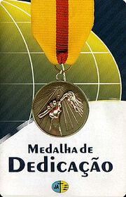 Medalha de dedicacao