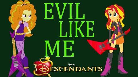 PMV Descendants-Evil Like Me