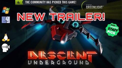 Descent Underground Official Trailer