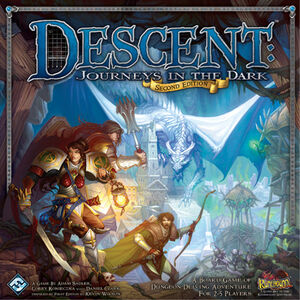 Descent: Journeys in the Dark Second Edition - Fantasy ...