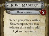 Rune Mastery