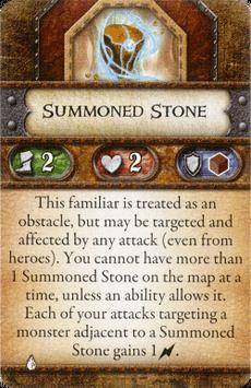 Geomancer - Summoned Stone