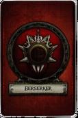 Berserker - Cardback