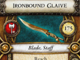 Ironbound Glaive