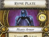 Rune Plate