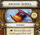 Archaic Scroll