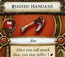 Rusted Handaxe