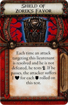 Overlord Relic - Shield of Zorek's Favor