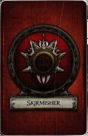 Skirmisher - Cardback