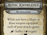 Runic Knowledge