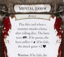 Mental Error
