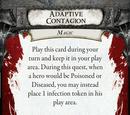 Adaptive Contagion