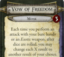 Vow of Freedom