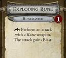 Exploding Rune