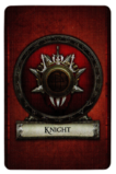 Knight - Cardback