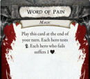 Word of Pain