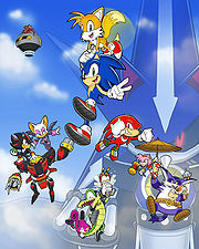 We re Sonic Heroes by E 122 Psi